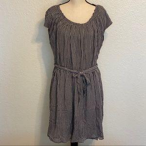 Lauren Conrad Pleat Neck Dress